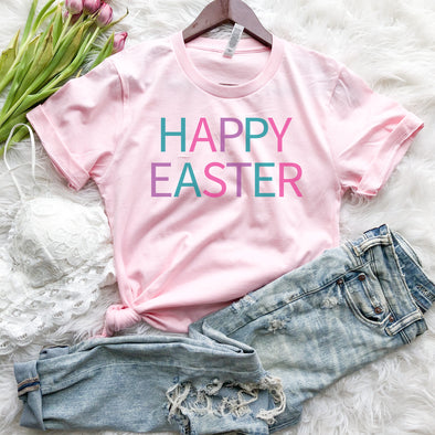 Happy Easter Shirt Womens
