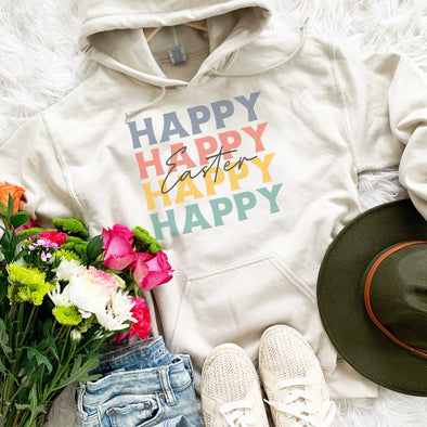 Retro Happy Easter Sweatshirt