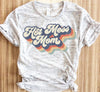 Retro Hot Mess Mom Shirt