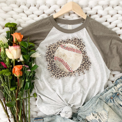 Leopard Baseball Shirt