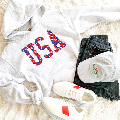 Leopard USA Sweatshirt