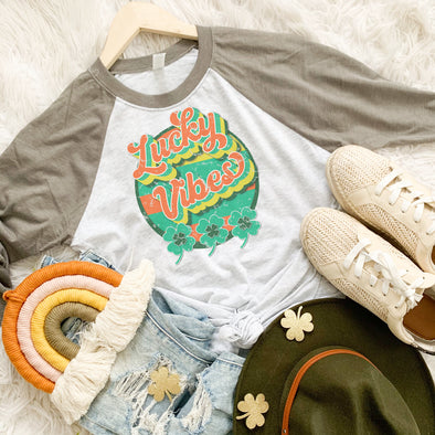 Retro Lucky Vibes Shirt