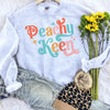 Retro Peachy Keen Sweatshirt