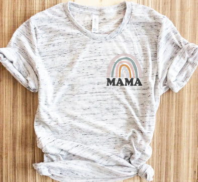 Retro Mama Rainbow Shirt