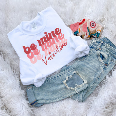 Retro Be Mine Sweatshirt