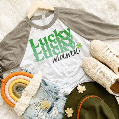 Retro Lucky Mama Shirt