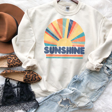 Retro Sunshine Sweatshirt