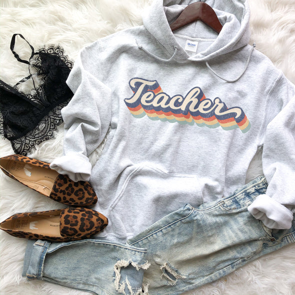 Retro Teacher Sweatshirt