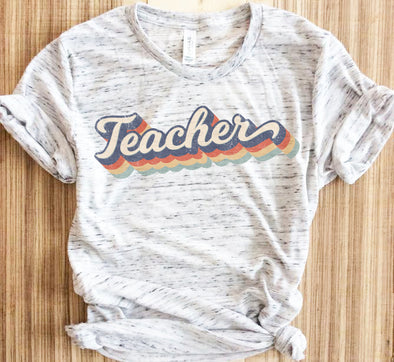 Retro Teacher Shirt