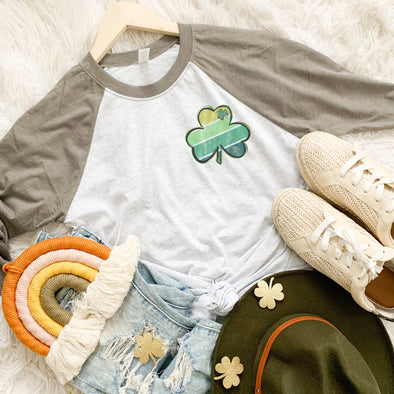 Striped Shamrock Shirt