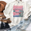 Stuck On You Valentines Day Cactus Sweatshirt