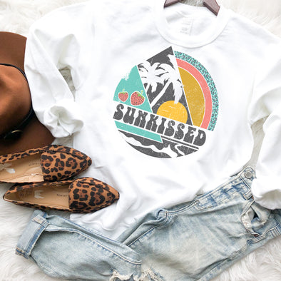 Retro Sun Kissed Sweatshirt