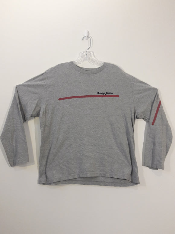 Vintage Tommy Hilfiger Long Sleeve T Shirt Men's Large
