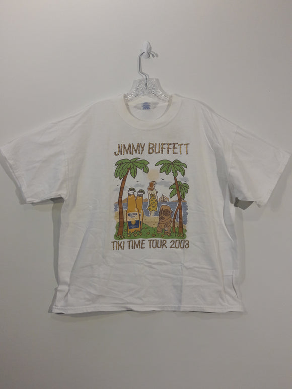 Vintage Jimmy Buffet Concert T Shirt Men's XL