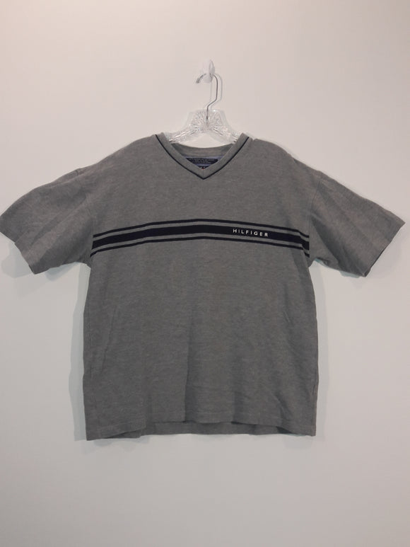 Vintage Tommy Hilfiger V-neck T Shirt Men's XL