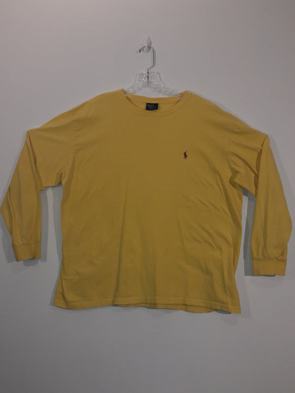 Vintage 90s Polo Ralph Lauren Long Sleeve T Shirt Men's XL