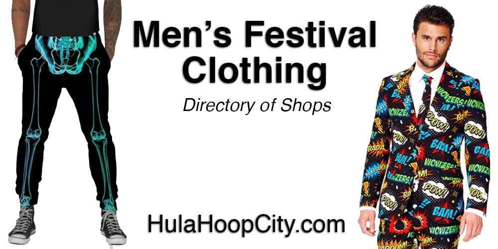 Men's Festival Clothing and Rave Costumes