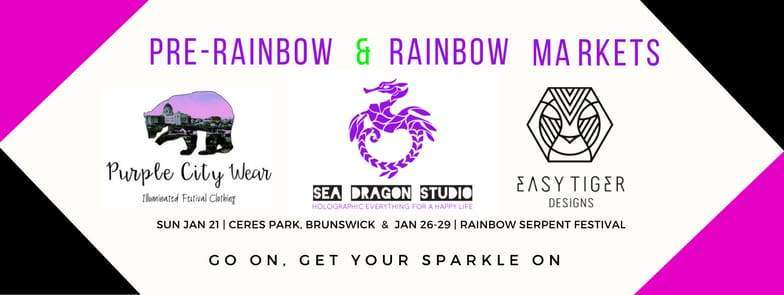 Pre-Rainbow & Rainbow Serpent Market with Sea Dragon & Friends