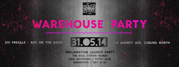 Reclamation Artists Warehouse Launch Party & Fundraiser