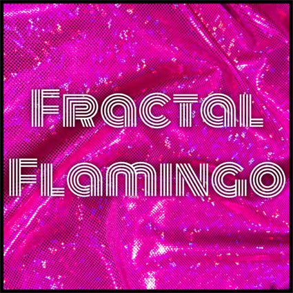 Fractal Flamingo Takes Flight