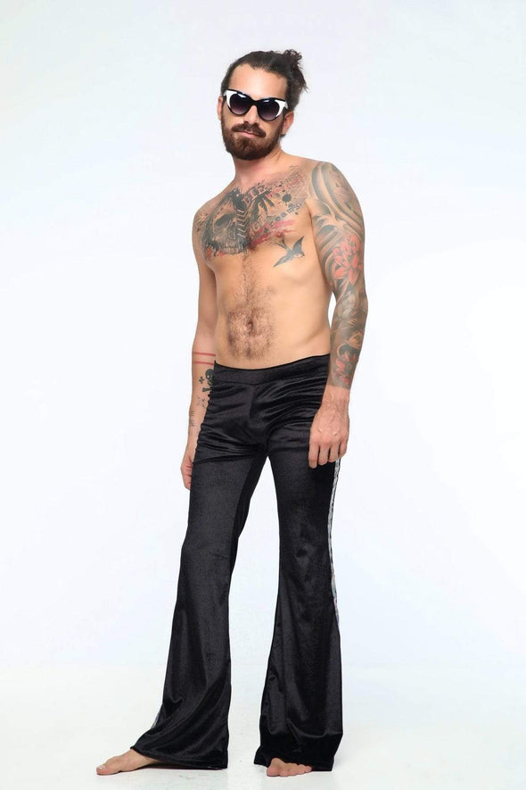 Mens Velvet Flares | 5 Colors