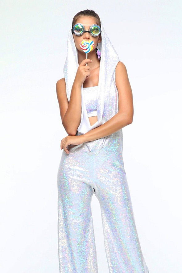 Holographic Disco Jumpsuit | 13 Colors - Womens Jumpsuits