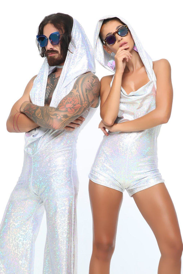 Holographic Playsuit | 13 Colors - Womens Jumpsuits