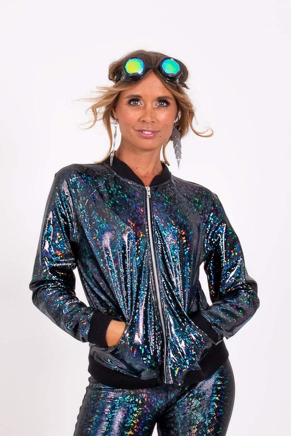 Holographic Bomber Jacket | 13 Colors
