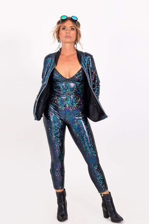 Mustang Sally Holographic Catsuit | 13 Colors