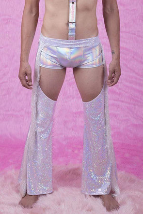Mens Holographic Chaps | 13 Colors