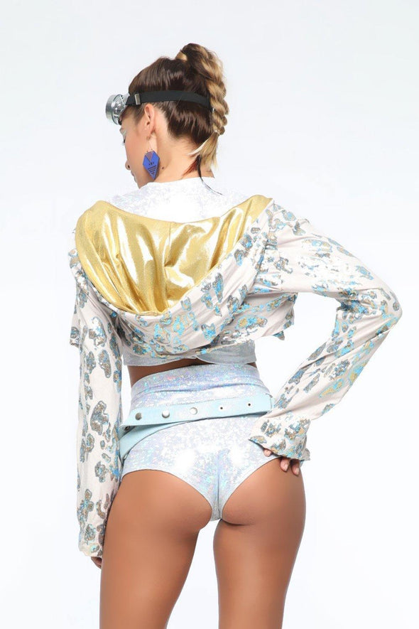 Holographic Hot Pants | 13 Colors - Womens Bottoms