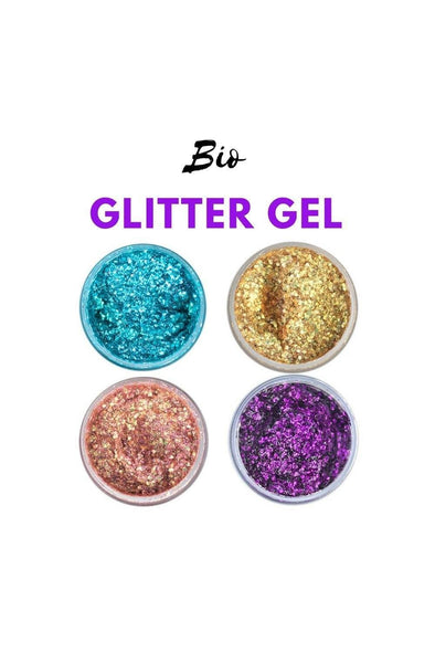Biodegradable Glitter Body Gel | Damed - Glitter