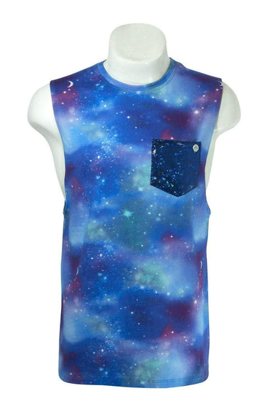 Galactic Sleeveless Tee
