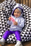 Kids Holographic Hoodie - Kid's Tops From Sea Dragon Studio Festival & Rave Outfit Collection