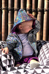 Kids Holographic Hoodie - Kid's Tops From Sea Dragon Studio Festival & Rave Clothing Collection