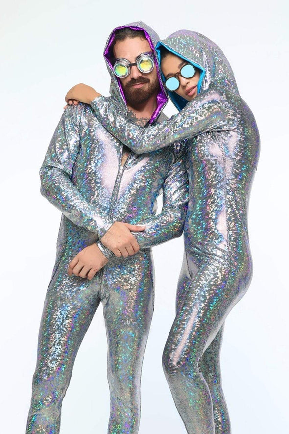Mens Holographic Jumpsuit | 13 Colors - Mens Jumpsuits