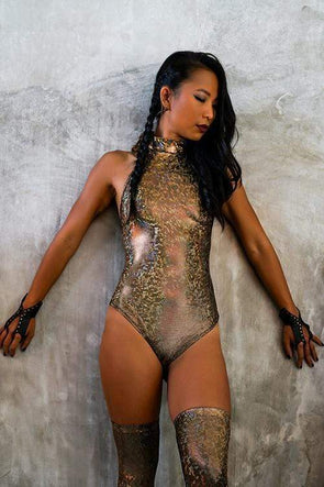 Holographic Veronica Bodysuit | 13 Colors
