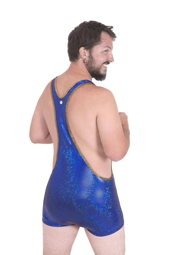 Holo Mens Wrestling Suit | 13 Colors - Mens Jumpsuits