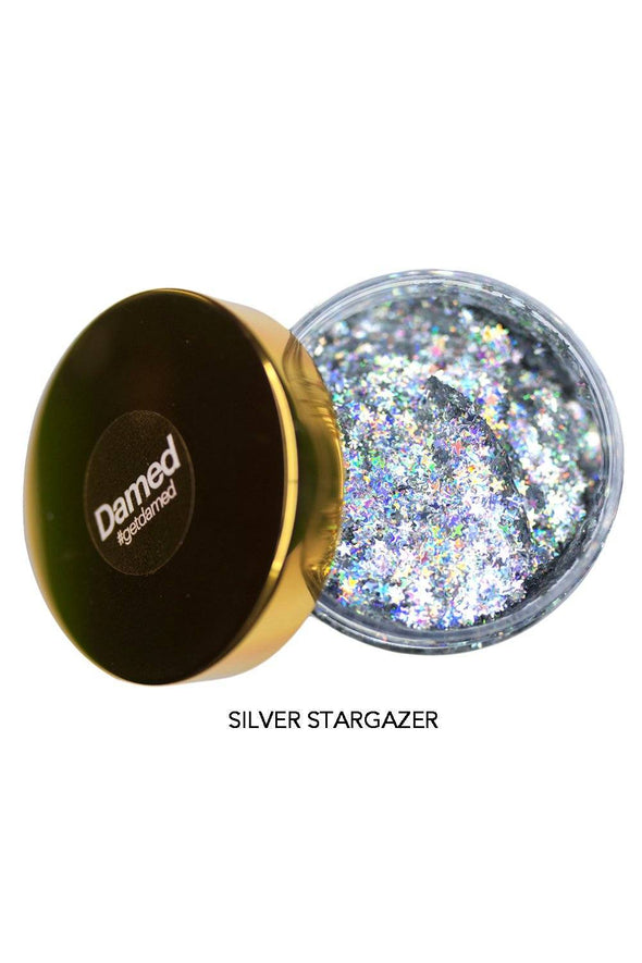 Holographic Glitter Hair Gel
