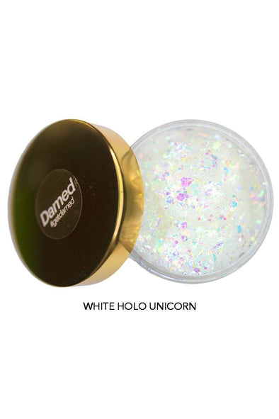 Holographic Glitter Hair Gel | DAMED