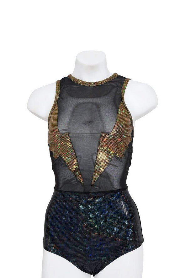Mesh Holographic Lightning Tank | 13 Colors - Womens Tops