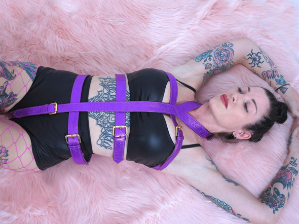 Element Leather Body Harness