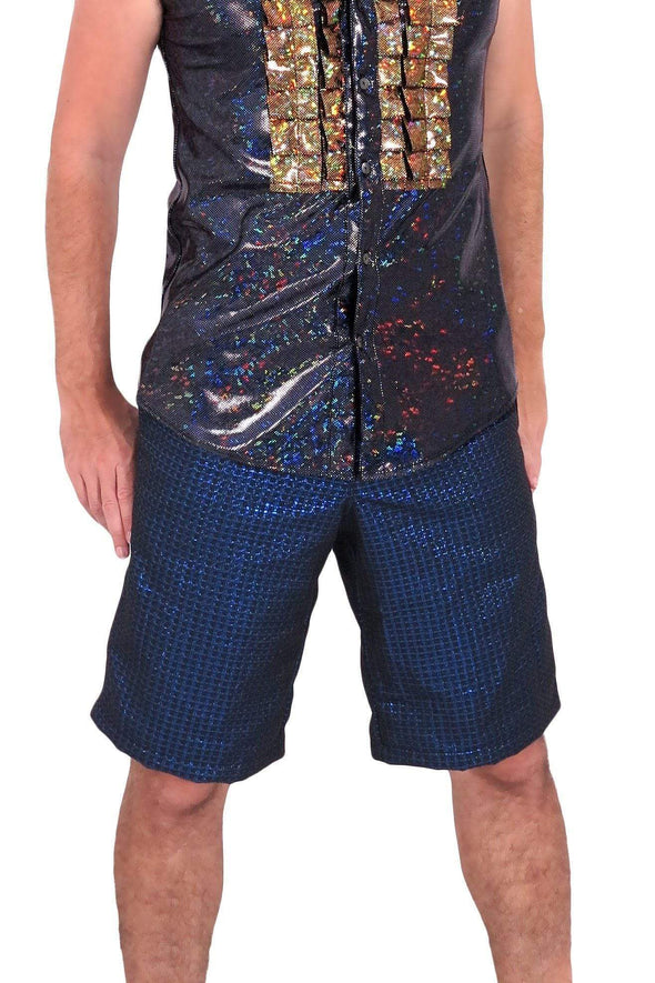 Mens Patterned Disco Shorts | 15 Colors