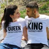 """King & Queen"" Attraction Shirts"