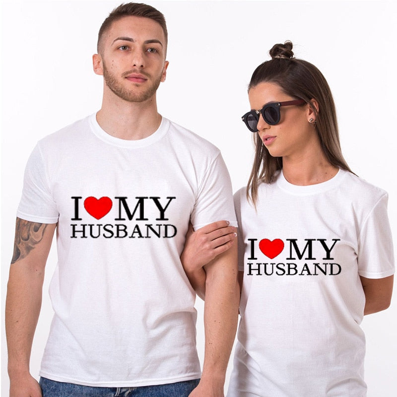 I Love My Husband/Wife Shirts