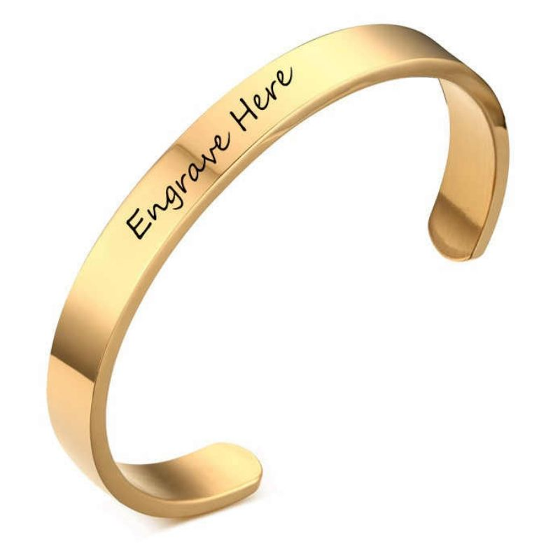 Personalised Couple Bangles