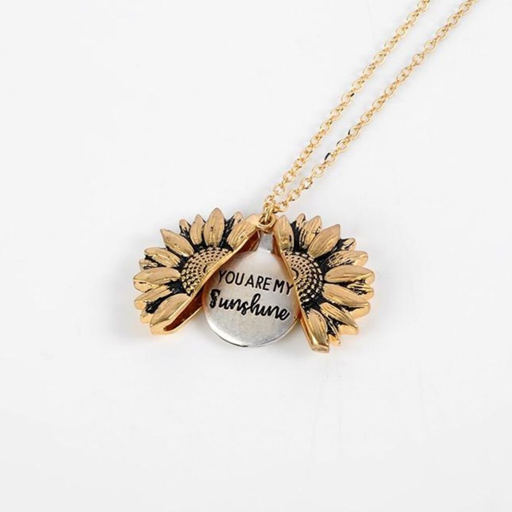 """You Are My Sunshine"" Necklace"