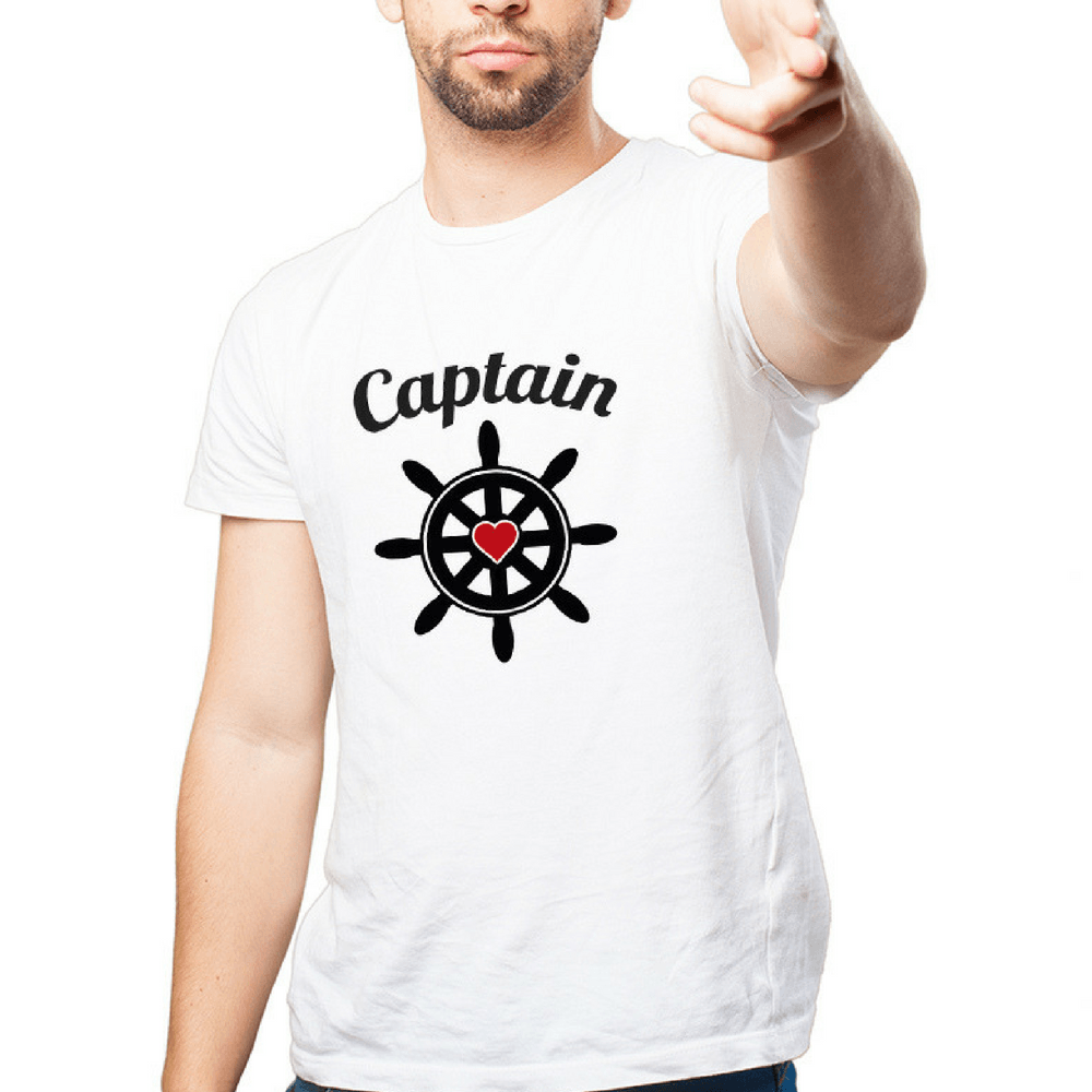 Anchor/Captain Couple Shirts - Holistic Bear