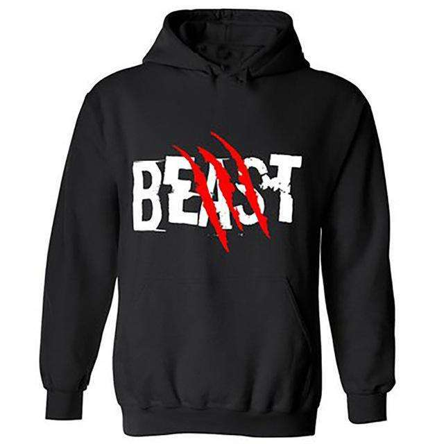 Beauty & Beast Hoodies - Holistic Bear