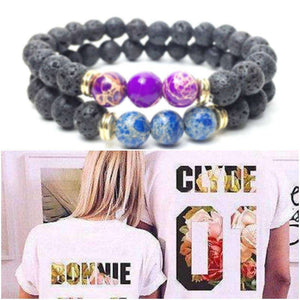 Bonnie & Clyde + You Complete Me Bracelets Bundle - Holistic Bear